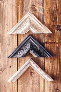 Trio of luxury wall art frames
