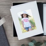 Image of printed photographs, product banner.