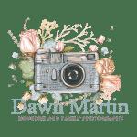Dawn Martin Camera with flowers branding logo.