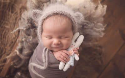 NEWBORN PHOTOGRAPHER SOUTH LANARKSHIRE | BABY POPPY